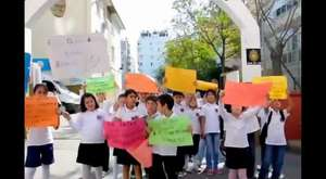 Fatmagül İlköğretim Okulunda Protesto