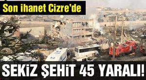 Cizre'de Emniyet Müdürlüğüne Bombalı Saldırı - YouTube