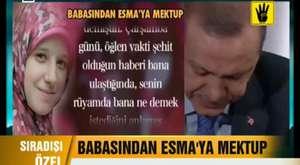 Erdoğan Esma İçin Canlı Yayında Ağladı