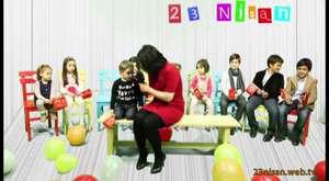 23 Nisan Çocuk Bayramında Çocuklarla Röportaj