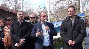 CHP İstanbul İl Yönetimi ve Başakşehir,Avcılar İlçe Başkanlarıda Gölet Basın Açıklamasını destekleyenler arasındaydı