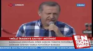 AK Parti İstanbul Milli İradeye Saygı Mitingi - Mahşeri Kalabalık