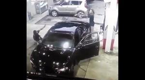 Benzinlik Değil Sanki Aksiyon Filmi