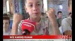 Somada Kuran Öğrenen İkizler TRT HABER