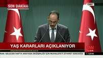 Prof. Dr. İbrahim Kalın YAŞ Kararlarını Açıklıyor