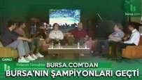 Bursa.com'dan şampiyonlar geçti