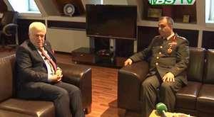 Tümgeneral Seyfullah Saldık'tan Ziyaret